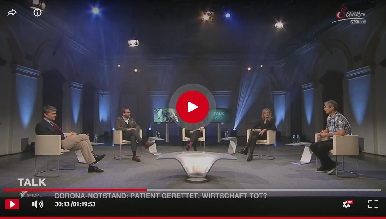 Talk im Hangar 7 – Patient gerettet – Wirtschaft tot? >weiterlesen + Video ansehen>